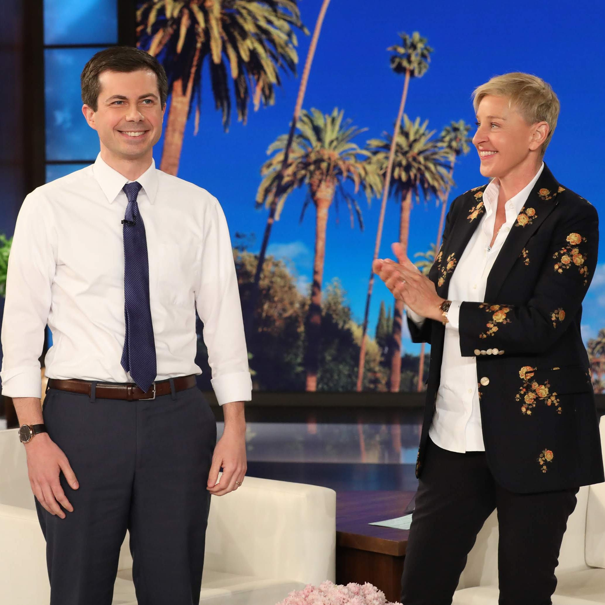 Pete Buttigieg tells Ellen DeGeneres that candidacy announcement can wait