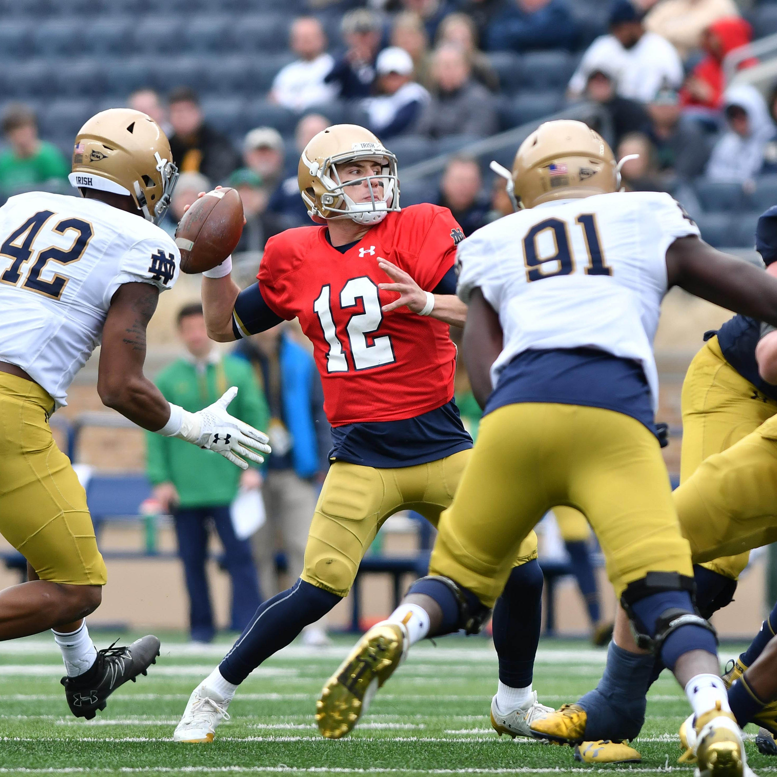 NBC Sports' experiments for Notre Dame football spring game could change telecasts for good
