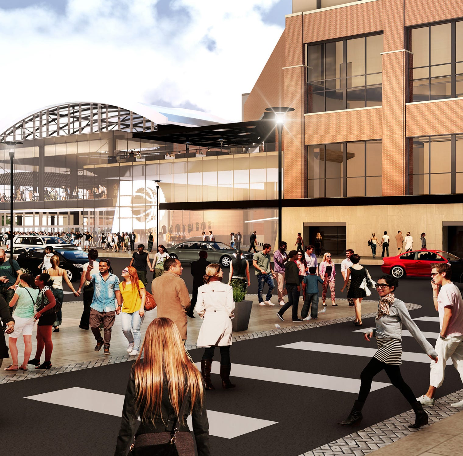The Indiana Pacers and the city have agreed to a deal worth $800 million  to stay in Indianapolis for the next 25 years. The upgrades to Bankers Life Fieldhouse, which will be fast-tracked over the next three years, will include a public plaza to host year-round events near the Pennsylvania Street entrance. The area can be available for concerts, ice skating and even basketball games.