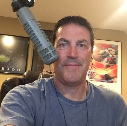 Jeff Rickard is a veteran of sports radio, including early morning shows.