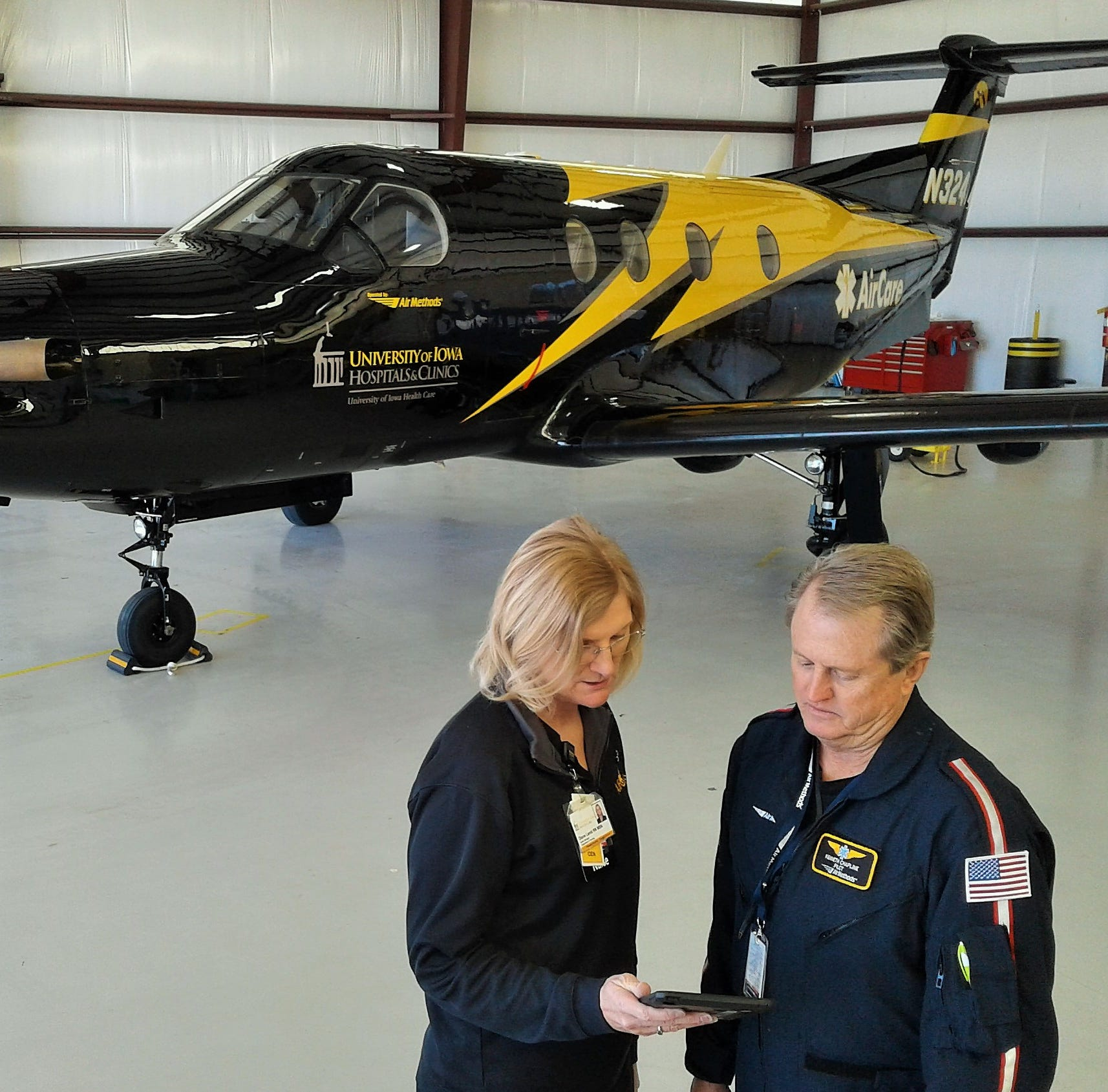 University's AirCare enhanced with fixed-wing, long-distance plane