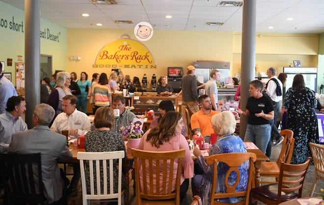 The 2019 March of Dimes Breakfast for Babies was held Friday, April 12, at The Bakers' Rack.