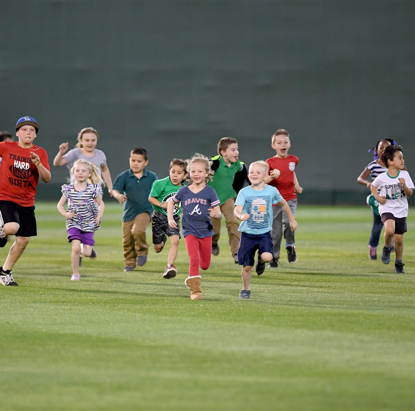 After a long, cold winter, young fans have a blast at The Ballpark at Jackson