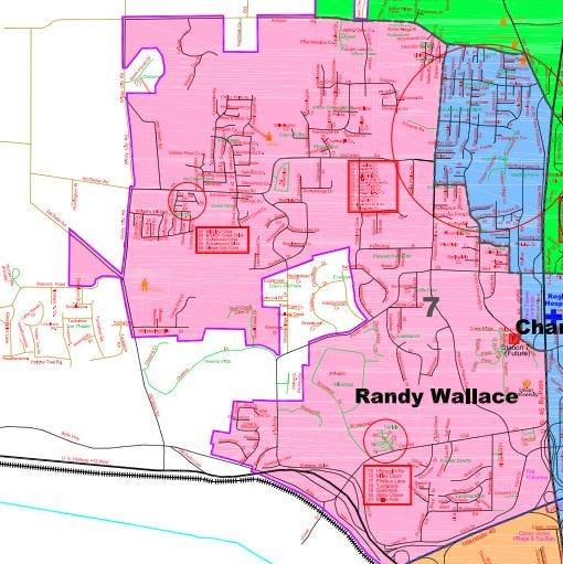 Jackson City Council District 7.