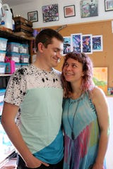 Elli McNall and Corey Pope are the artists behind Corelli Art Studio.