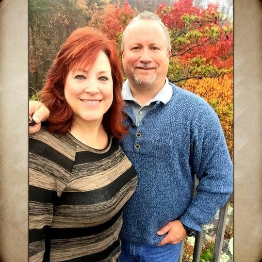 Donnie Surber and Sarah Catlett McVittie