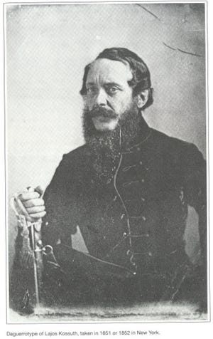 Louis Kossuth about the time of his visit to the United States in 1853.