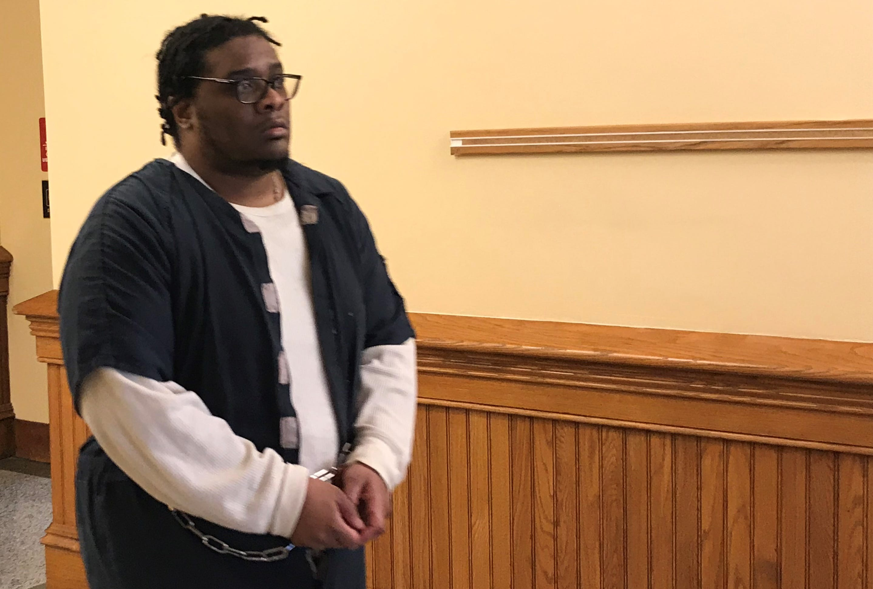 Aarron Vance walked out of the Tippecanoe County Courthouse Friday afternoon to begin serving a 30-year prison sentence for a burglary, during which John Byler was killed.