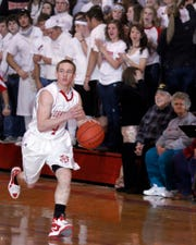 My son, Patrick, during his senior year playing at Johnstown. I tried to interfere with his playing time by contacting his coach without Patrick's knowledge and regret it to this day.