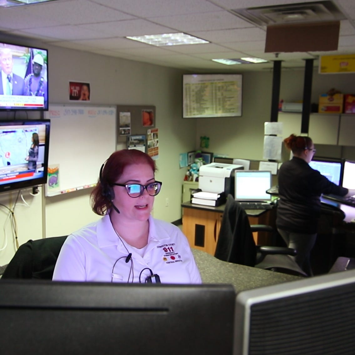 'We're people too': Dispatchers in Livingston County, nationwide recognized