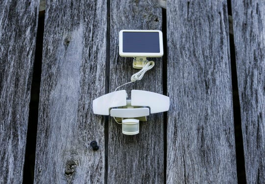 Lois Coffey's 100-year-old barn has a security system installed to keep an eye out for thieves.