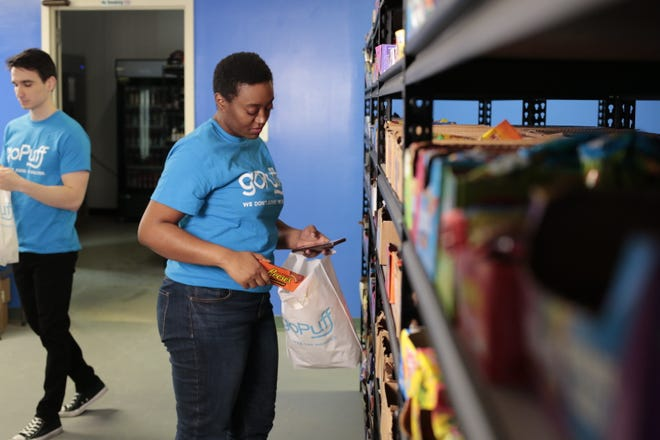 Delivery service goPuff is launching in the Lansing area Monday.