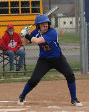 Ontario's Natalie Link slugged a home run and added two RBI in a 7-0 win over Lucas on Thursday evening.