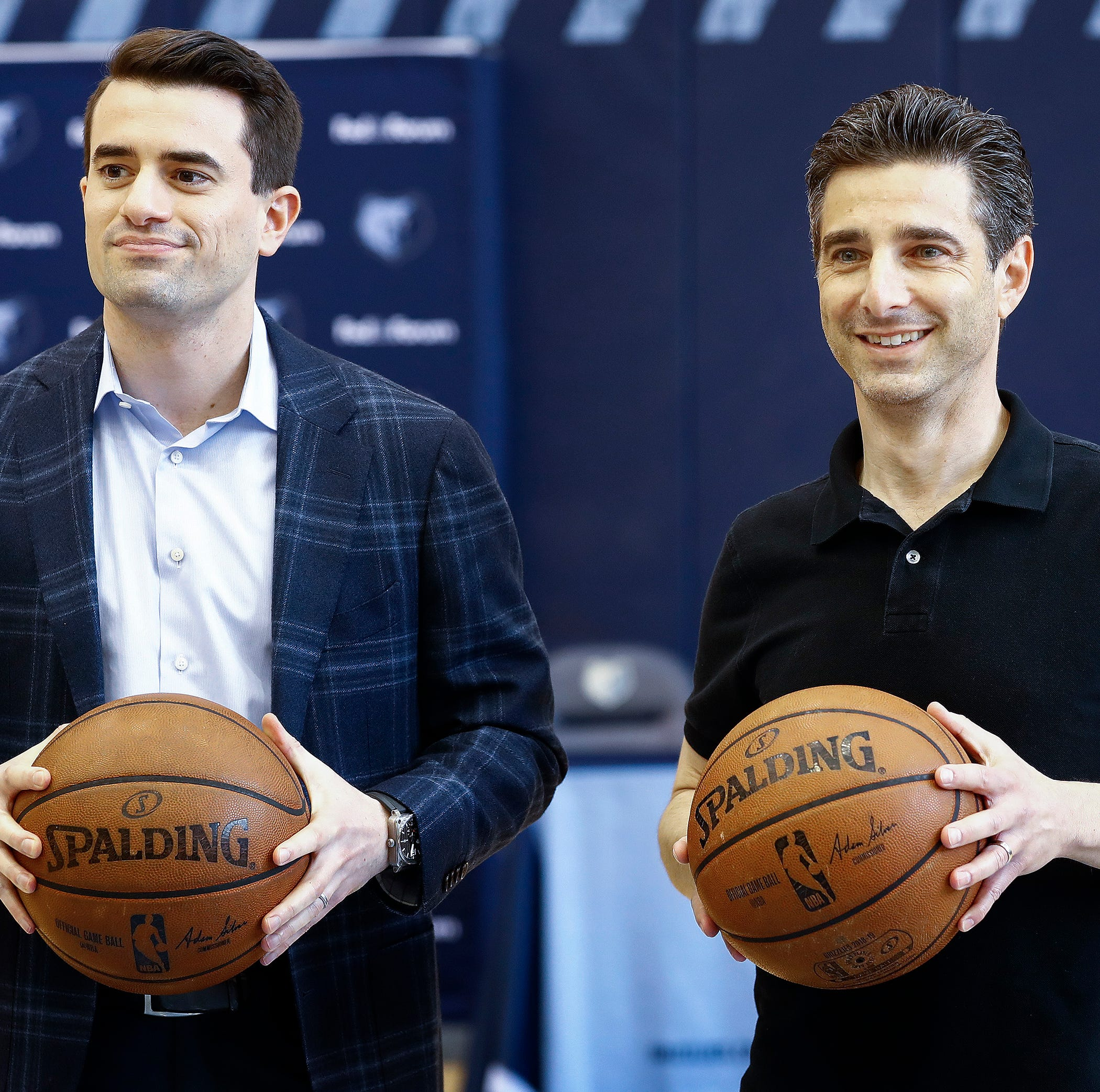 Empowered Memphis Grizzlies executives Jason Wexler, Zach Kleimann look to future