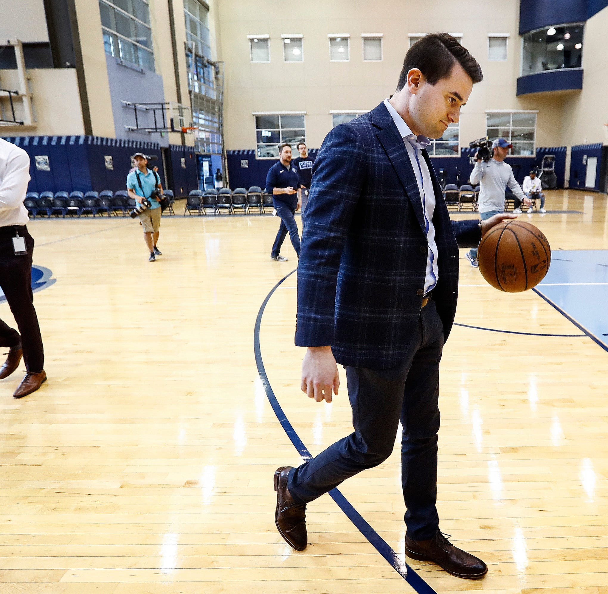 Zach Kleiman is the 30-year-old prodigy who will determine the Memphis Grizzlies future