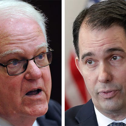 Bice: Ex-Gov. Scott Walker dumped from GOP event after clashing with Rep. Jim Sensenbrenner