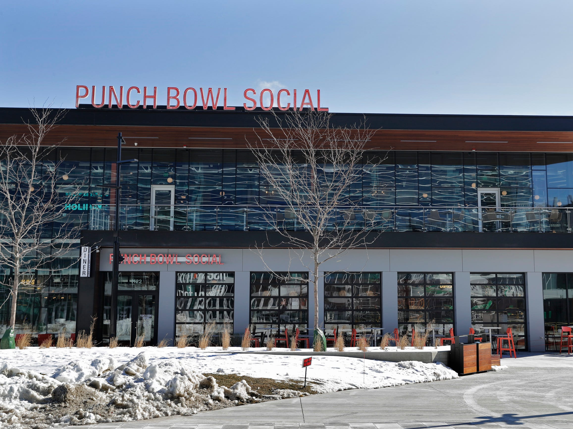 One thing is clear from a visit to the new Punch Bowl Social: It's going to be a loud, fun place. Punch Bowl Social, which opened at its first-ever Wisconsin location at the Entertainment Block by Fiserv Forum on  March 9, 2019.