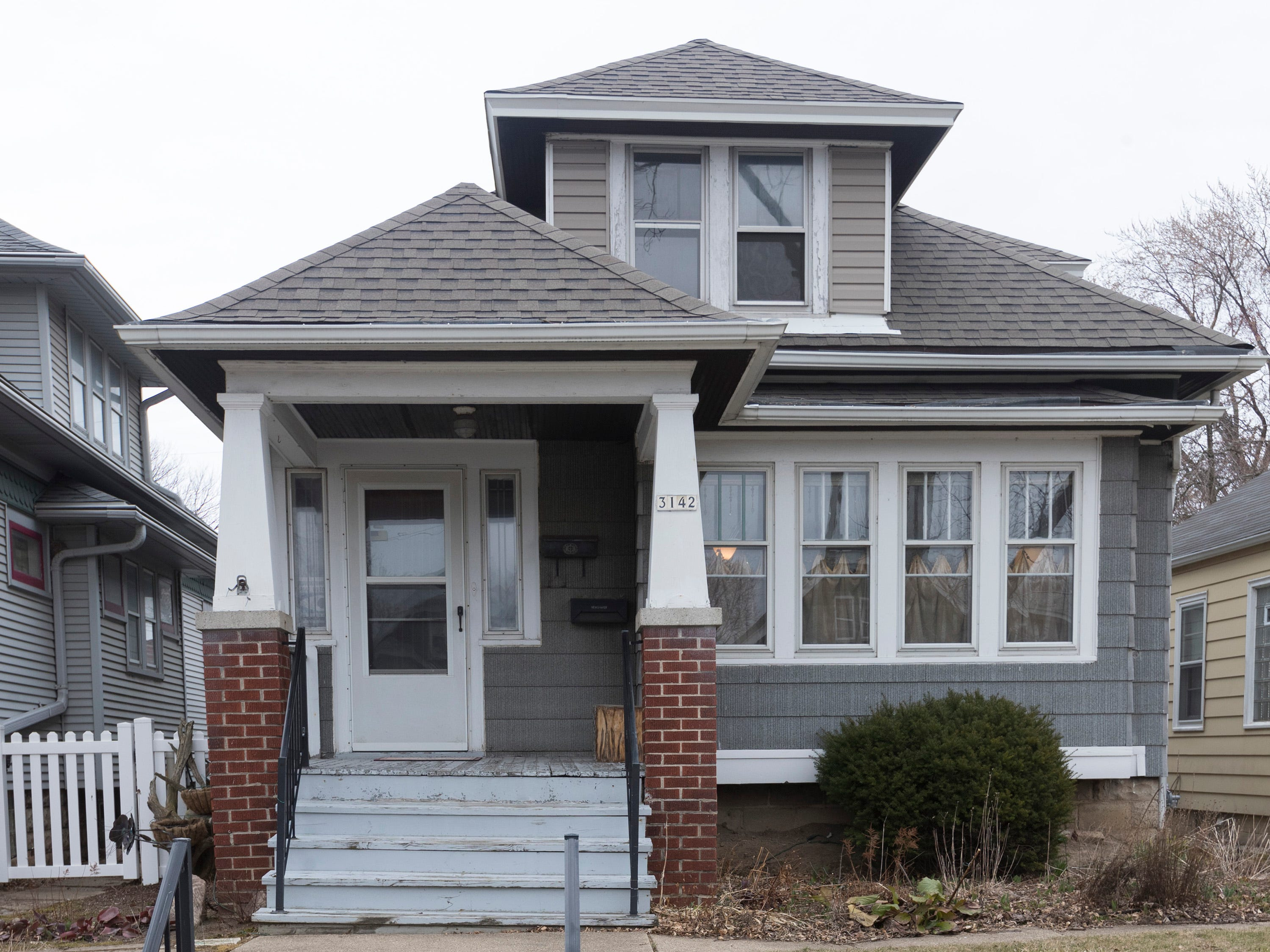 Linda Freund's Bay View bungalow has 1,100 square feet. She has yet to fix up the second floor.