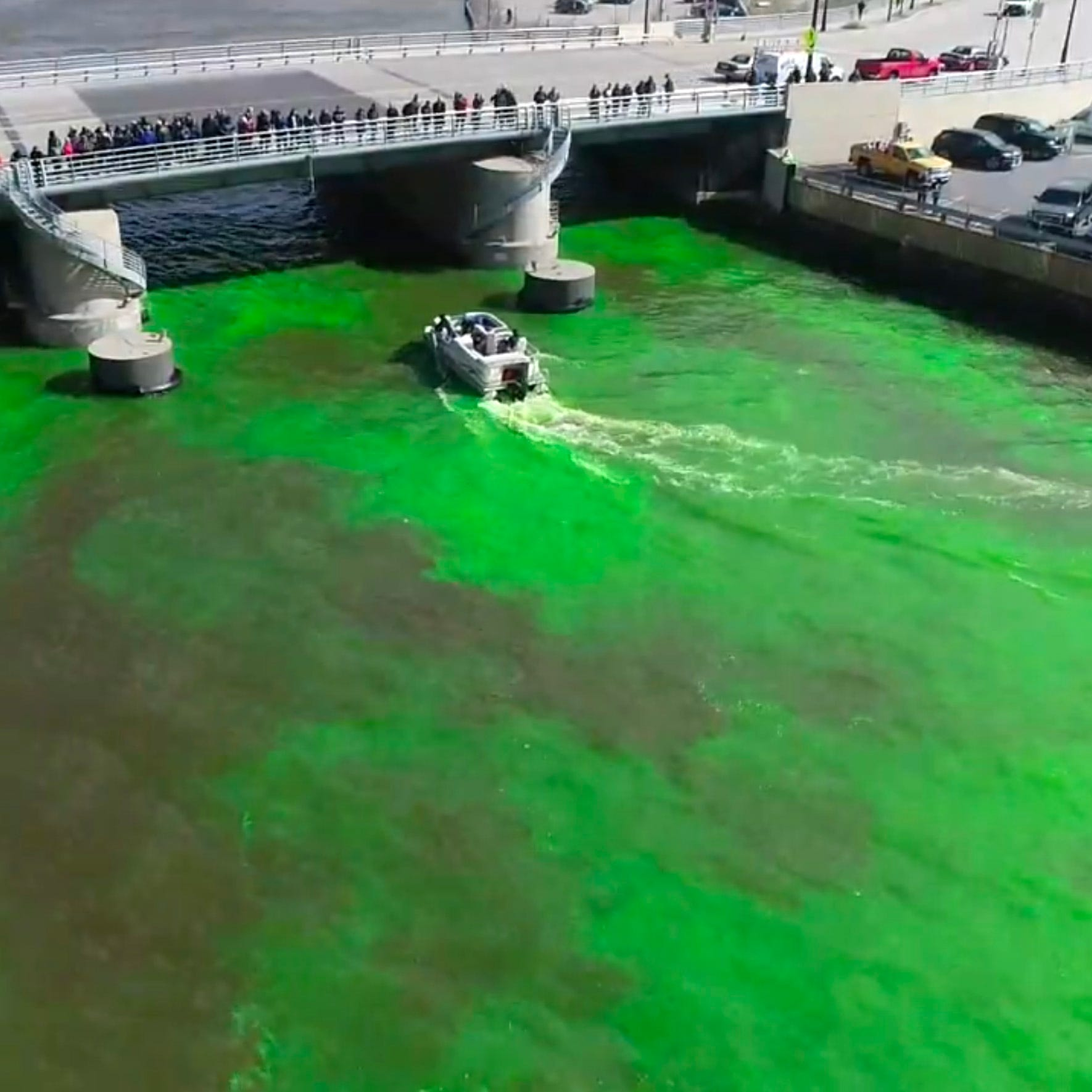 Watch the Bucks dye the Milwaukee River green this morning, plus other things you need to know