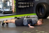 The burpee while challenging, offers strength, cardio and plyometric training in one singular movement.