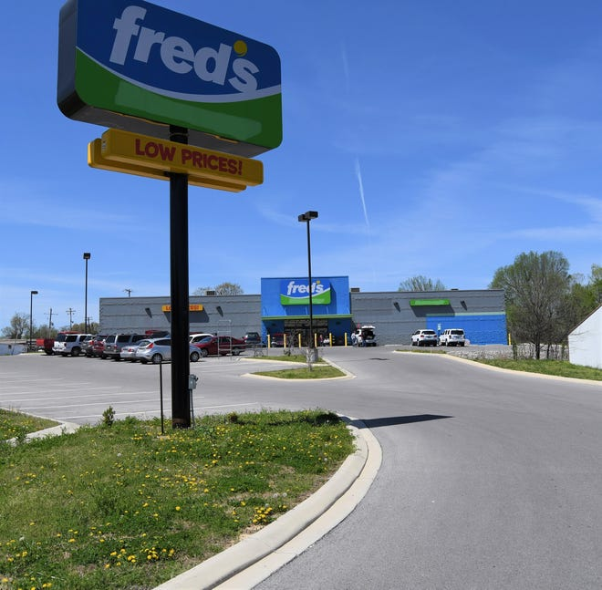 The Mountain Home Fred's store will close under a plan by the retailer to close almost 30 percent of its locations.