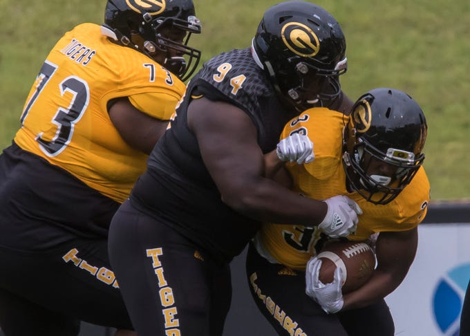 Grambling State held its Spring game at Eddie G. Robinson Stadium in Grambling, La. on April 12. Offense made a come back in the second half to win the game 49-44.
