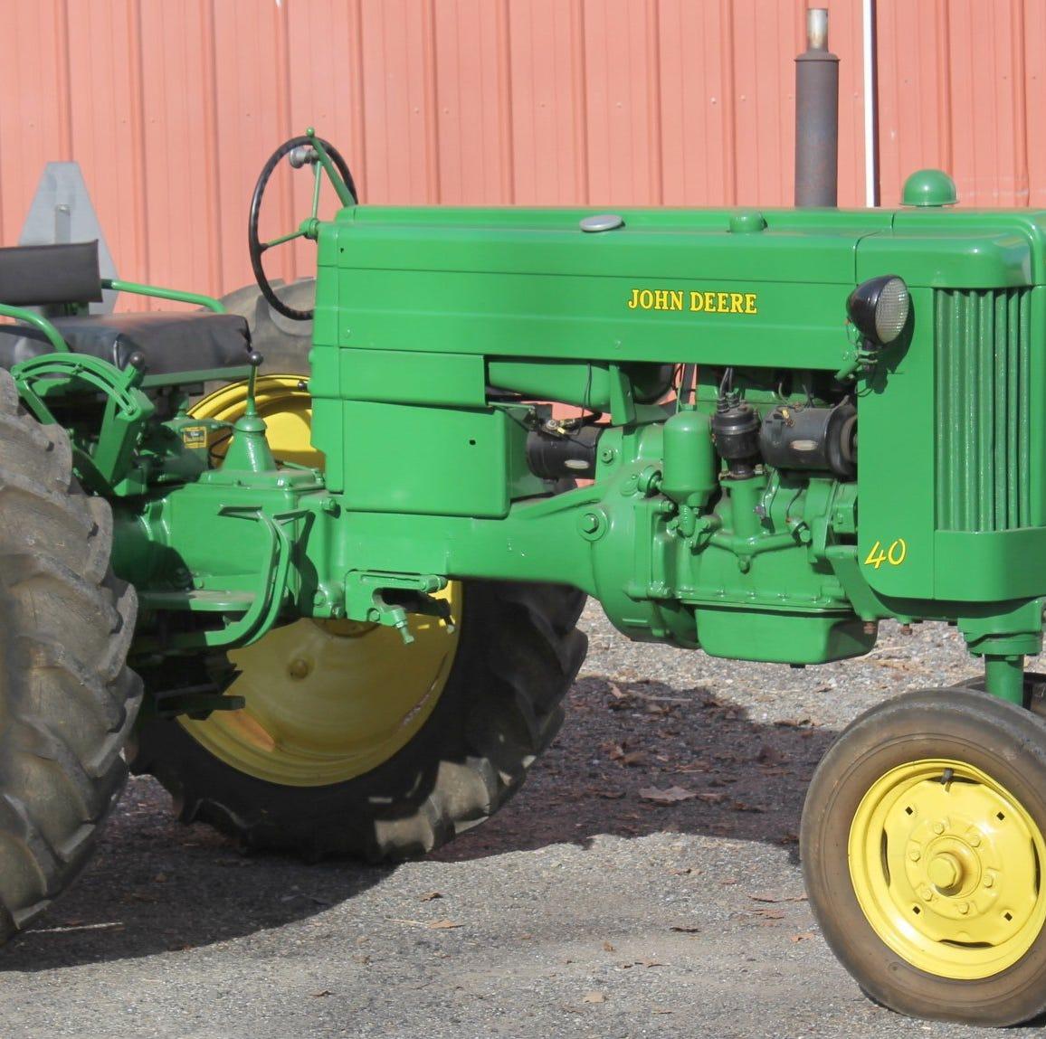 Ort Farms auctioning antique tractors, farm items Saturday