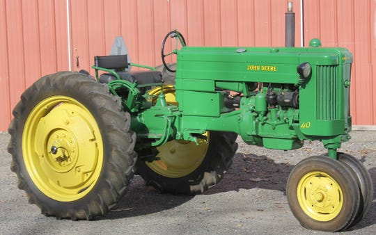 Ort Farms in Long Valley is auctioning off owner Harvey Ort Sr.'s collection of antique tractors and farm equipment, some dating back to the early days of this 100-year-old family business. Ort has been collecting for more than 50 years. April 13, 2019