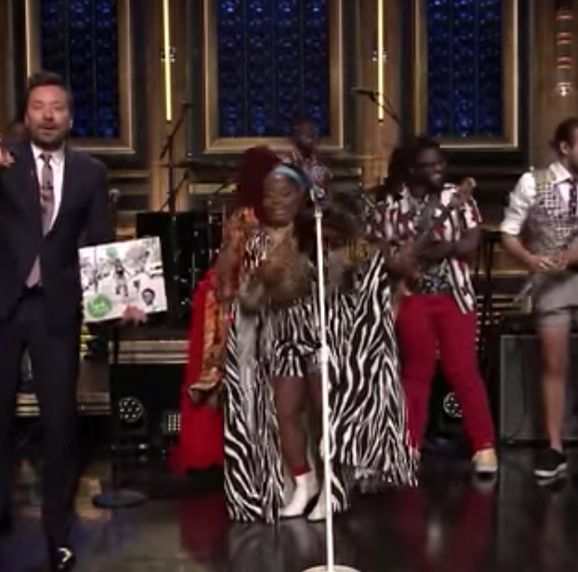Tank and the Bangas wow Jimmy Fallon on 'Tonight Show'