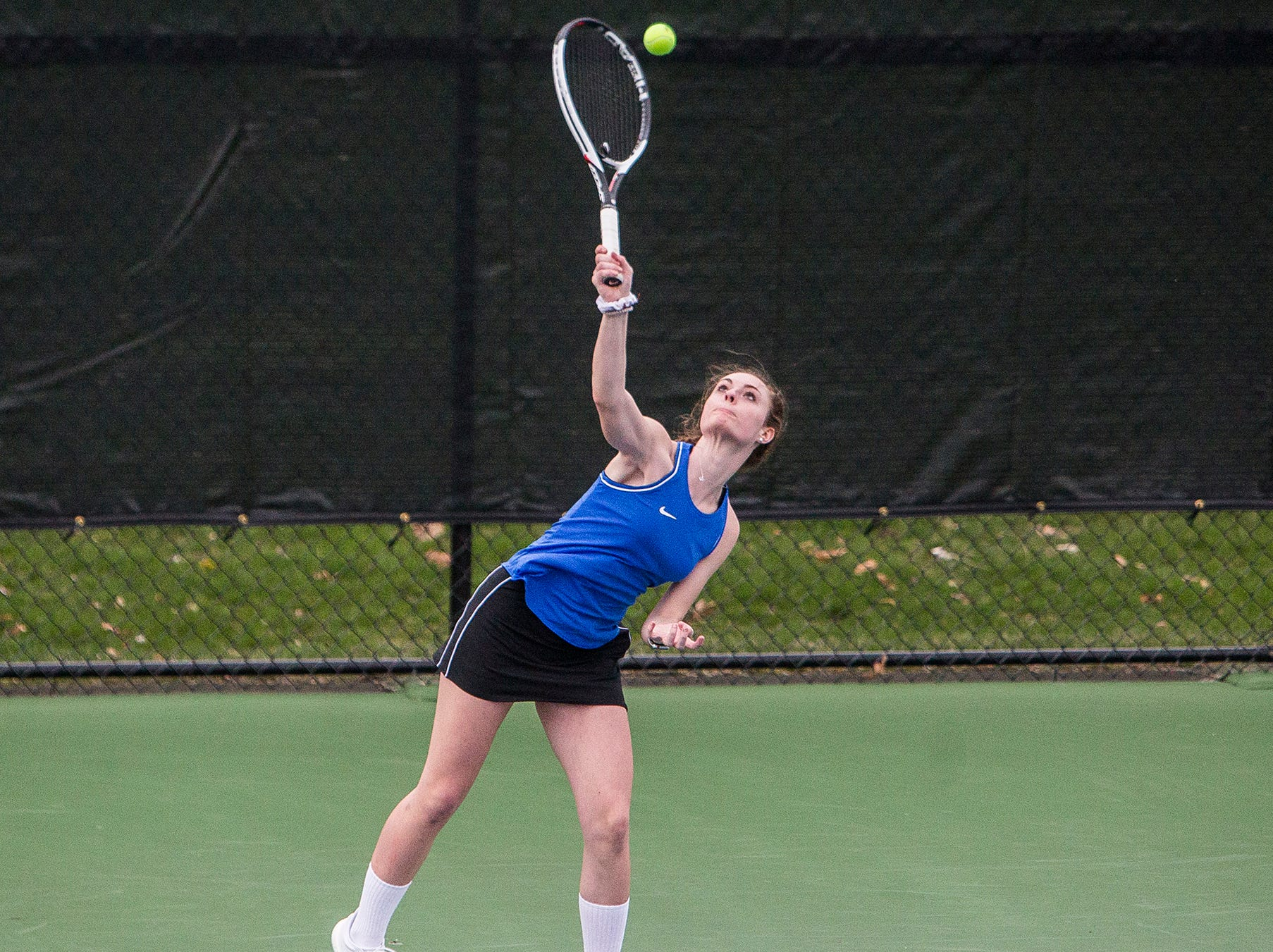Burris faces off against Central at Ball State Thursday, April 11, 2019.