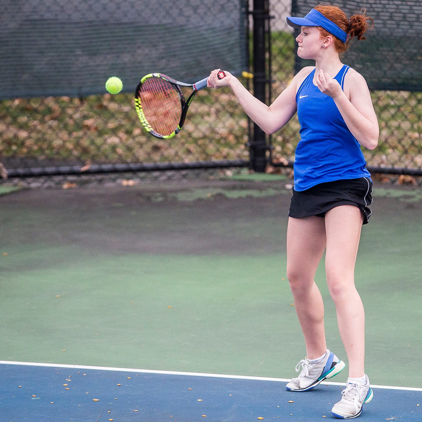 5 questions: How Burris' girls tennis star maintains her edge
