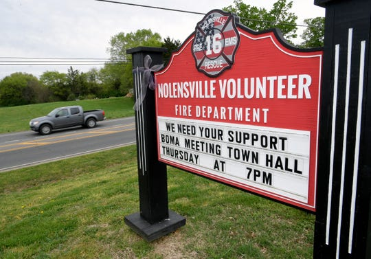 The Nolensville Volunteer Fire Department has tasked town leaders with deciding whether to create some paid fire positions or continue to relyon all-volunteer services.
