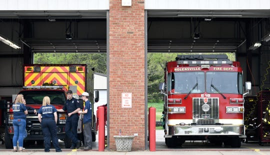 Between July 2017 and June 2018, the Nolensville Volunteer Fire Department answered 757 calls, according to data from the Williamson County dispatch center. The town, which has nearly doubled in population since 2010, has about 11,000 residents.