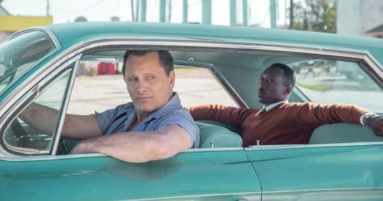 """""""Green Book"""" stars Viggo Mortensen and Mahershala Ali and won three Oscars earlier in 2019, including Best Picture."""
