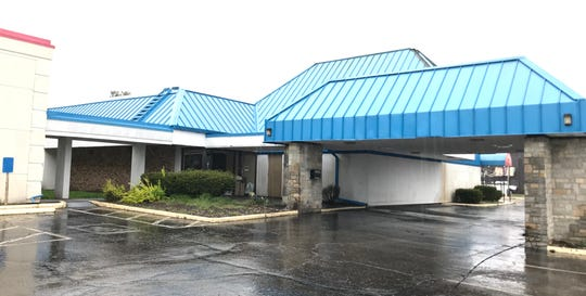 The Knights Inn hotel, at 733 Hebron Road, will be demolished, beginning in May.