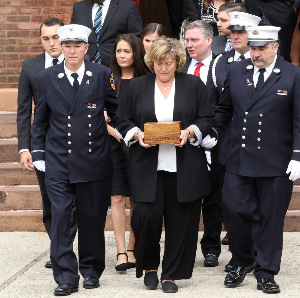FDNY veteran of Ground Zero laid to rest; experts say 'It's going to get worse'