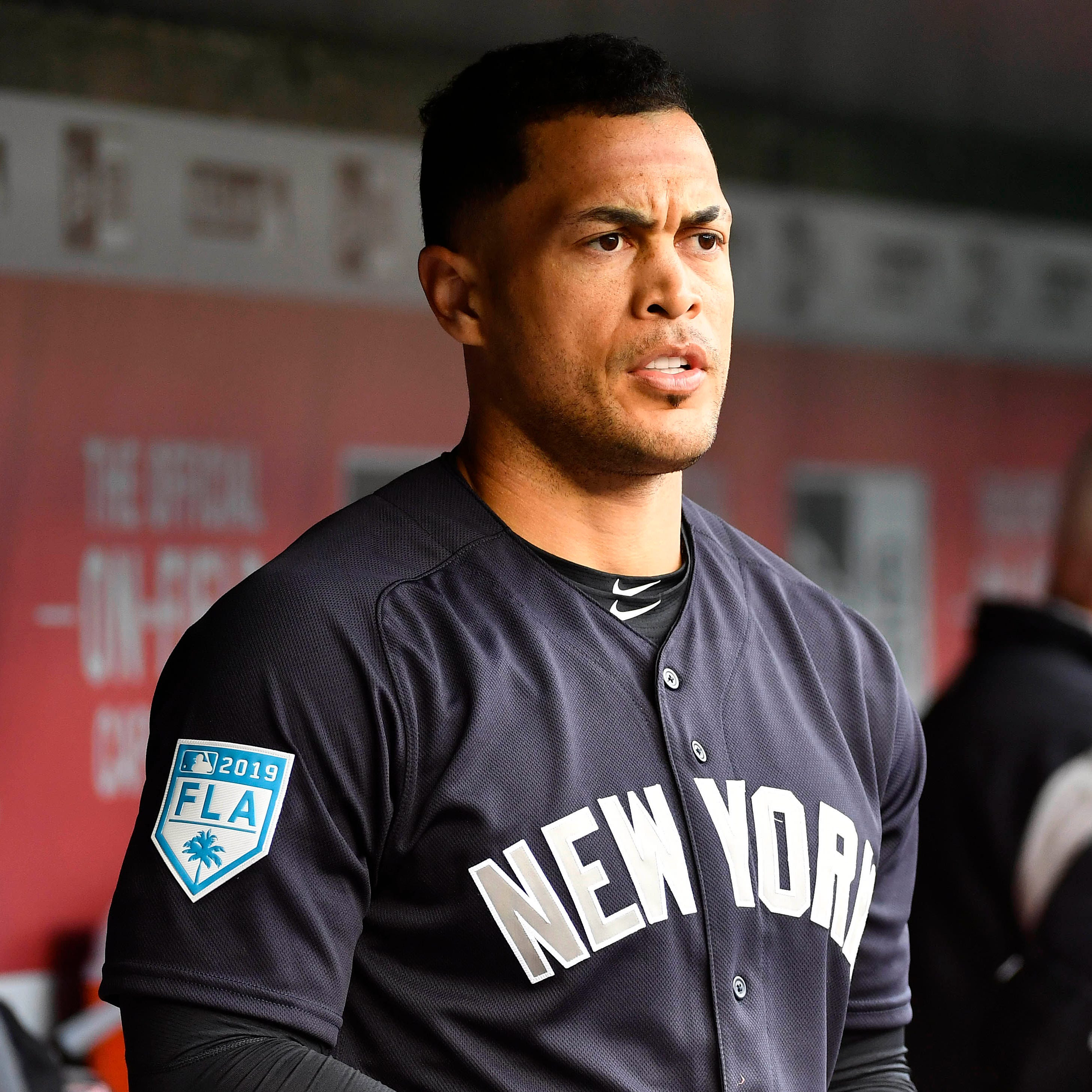 Giancarlo Stanton ready to resume hitting indoors, unsure of return to Yankees lineup
