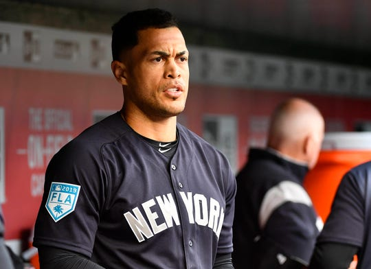 "New York Yankees left fielder Giancarlo Stanton (left biceps strain) ""could be back sooner rather than later,"" said manager Aaron Boone since the outfielder hit off a tee and played some soft toss on Friday."