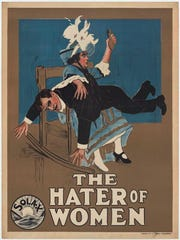 """""""Hater of Women,"""" one of several Alice Guy-Blache films that talk about gender and role-reversal"""
