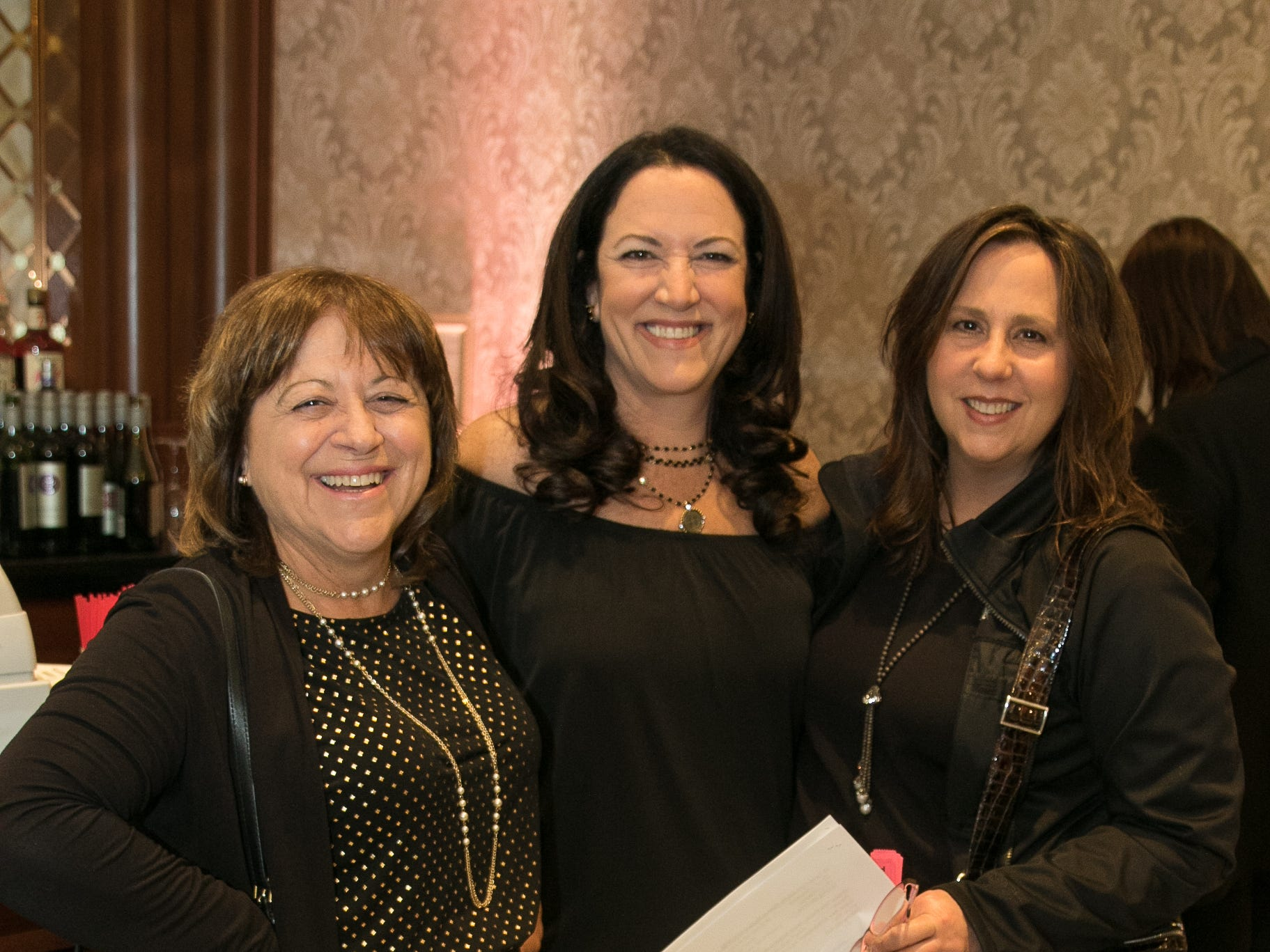 Laura Scott, Lisa Unanue, Colleen Callas. New Hope, a Pregnancy Resource Center, held their annual gala at Seasons in Washington Township. 04/05/2019