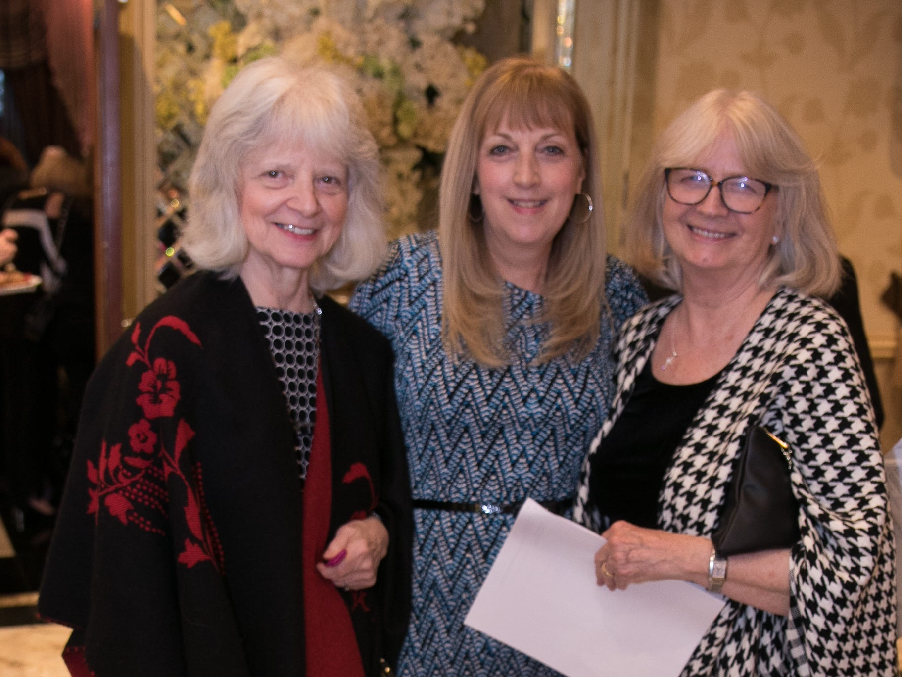 Helen Carroll, Annelie Foster, Diana Wunschel. New Hope, a Pregnancy Resource Center, held their annual gala at Seasons in Washington Township. 04/05/2019