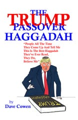 The Trump Passover Haggadah by Dave Cowen is a political parody which allows readers to feel they are at a Seder led by the Trumps.