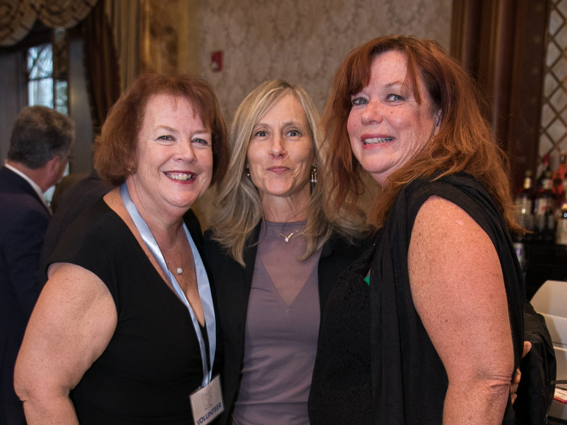Margie Doyle, Helena Chateau, Dot Falco. New Hope, a Pregnancy Resource Center, held their annual gala at Seasons in Washington Township. 04/05/2019