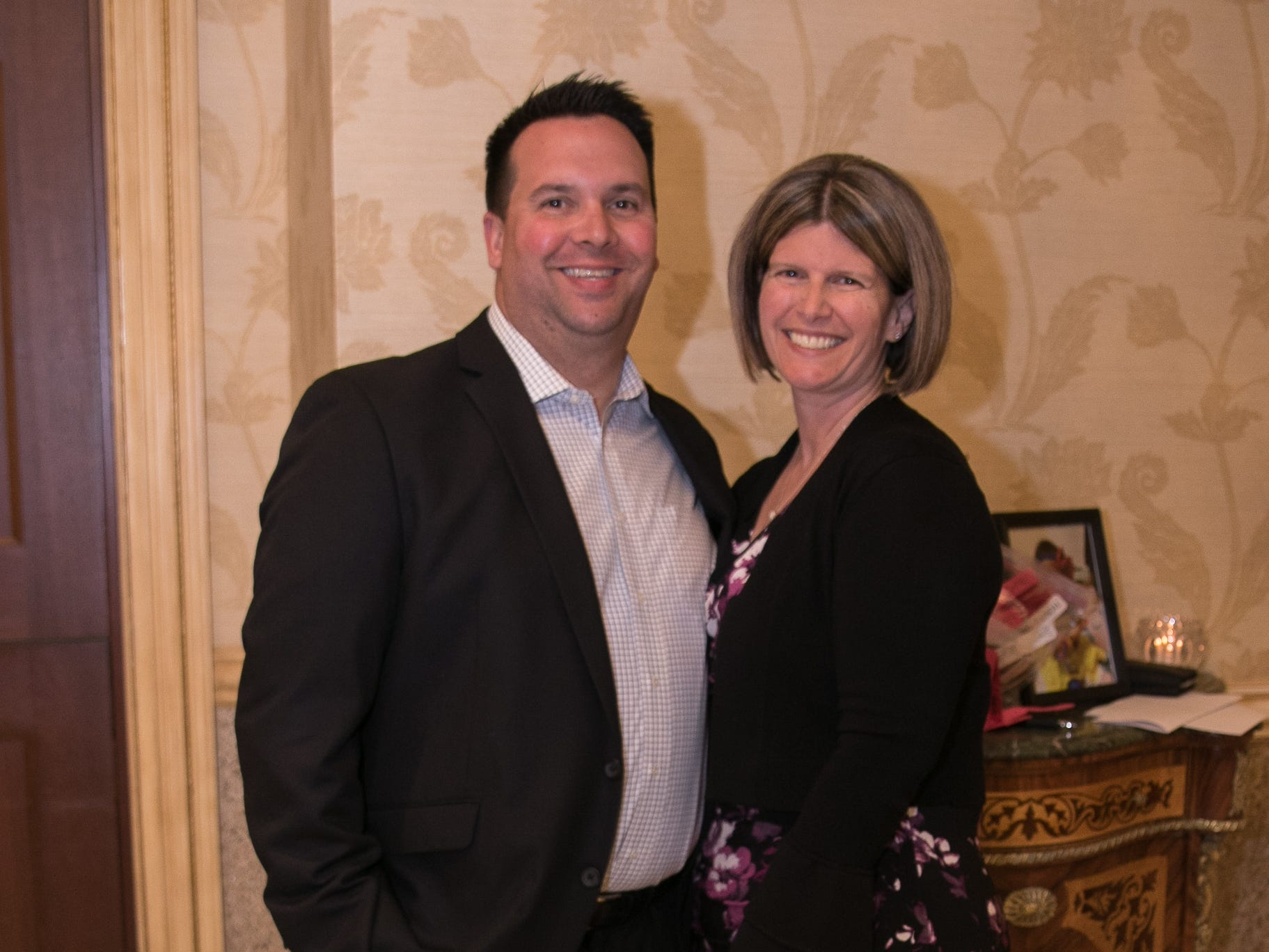 Michael and Tracy Zearfaus. New Hope, a Pregnancy Resource Center, held their annual gala at Seasons in Washington Township. 04/05/2019