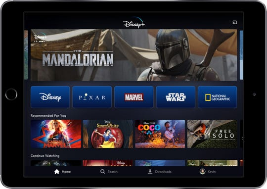Disney Plus is a new streaming service set to debut in November 2019.