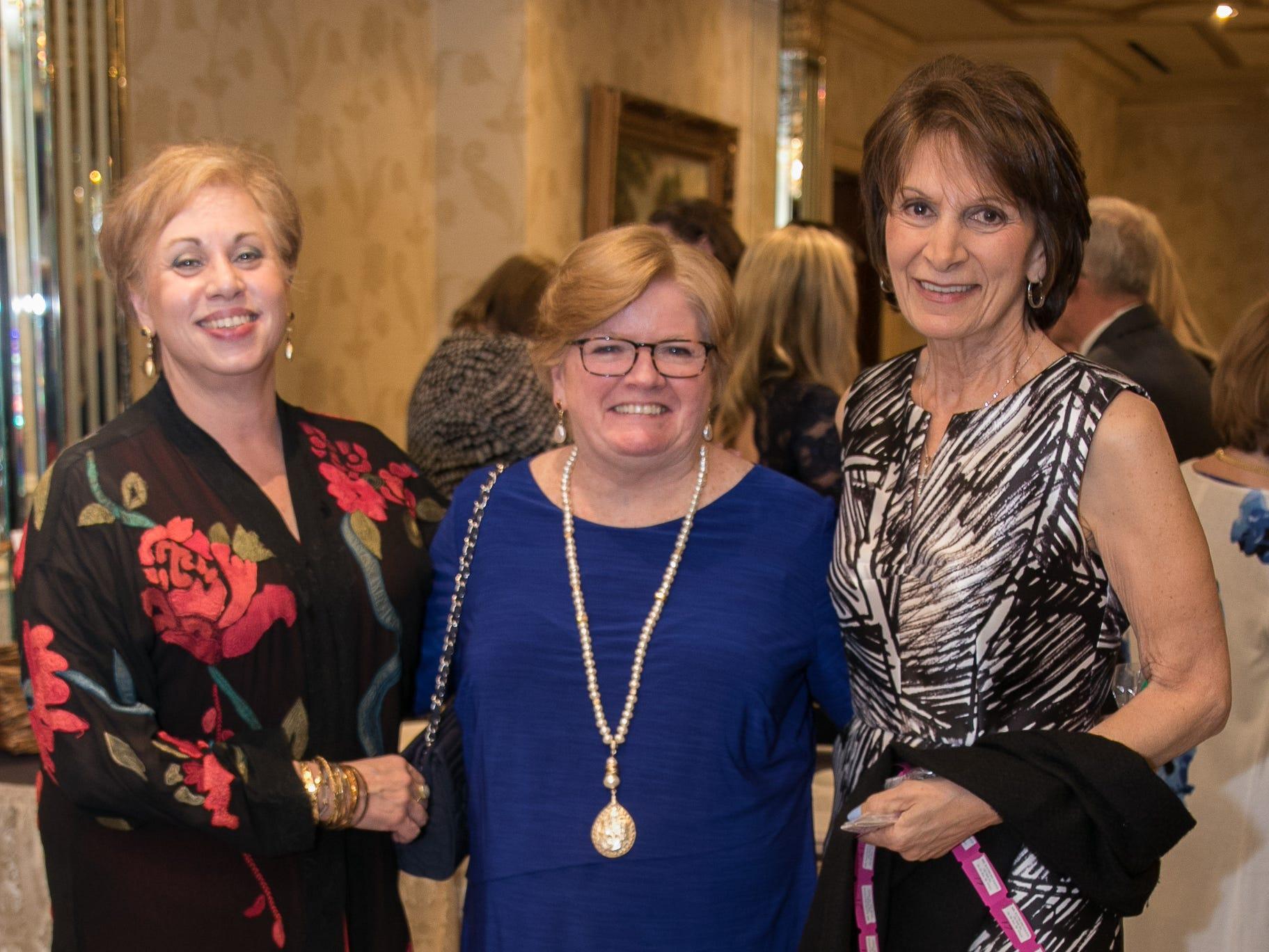 Louise Ryan, Pat McHugh, Joan Saud. New Hope, a Pregnancy Resource Center, held their annual gala at Seasons in Washington Township. 04/05/2019