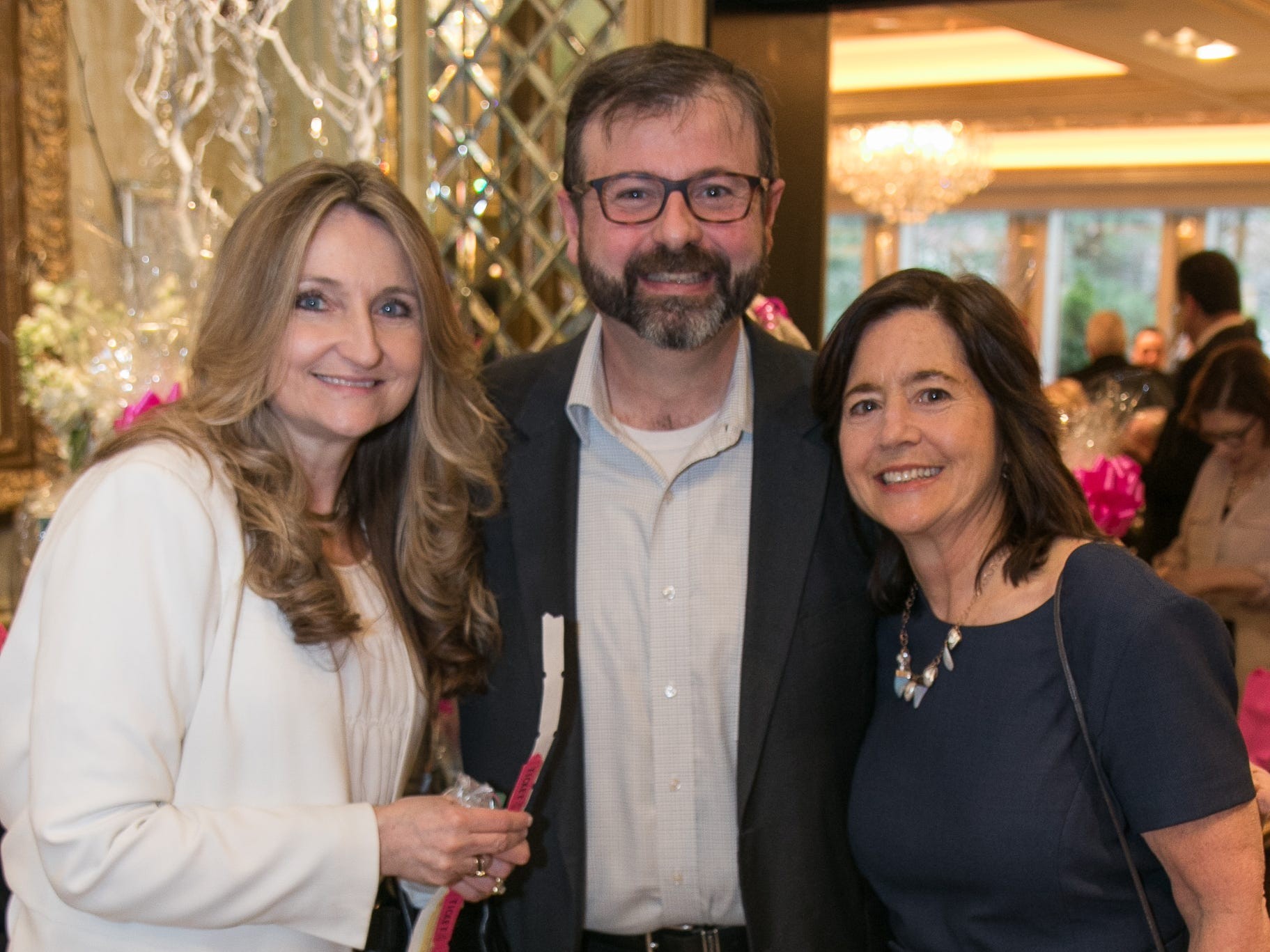 Ronnie Morrone, Robert Stanley, LouAnn McGlinchey. New Hope, a Pregnancy Resource Center, held their annual gala at Seasons in Washington Township. 04/05/2019