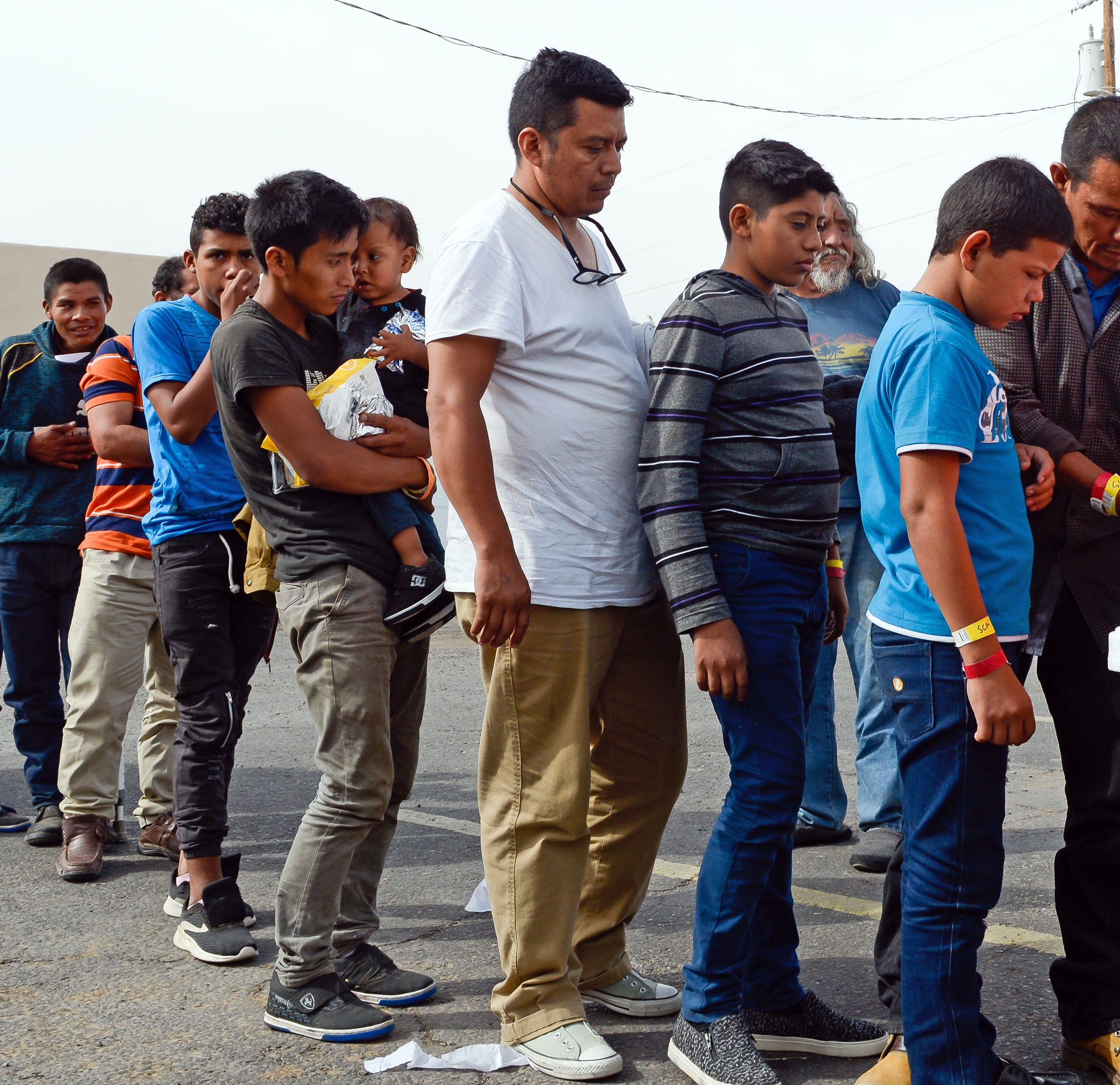 More than 1,000 migrants have now been dropped off in Las Cruces
