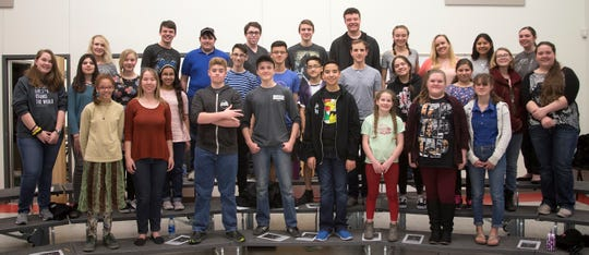 """The Mesilla Valley Teen Singers (MVTS), a talented group of young musicians, will perform""""American Tapestry,"""" a free concert at 3 p.m. Sunday, April 28, at First Presbyterian Church, 200 E.BoutzRoad."""