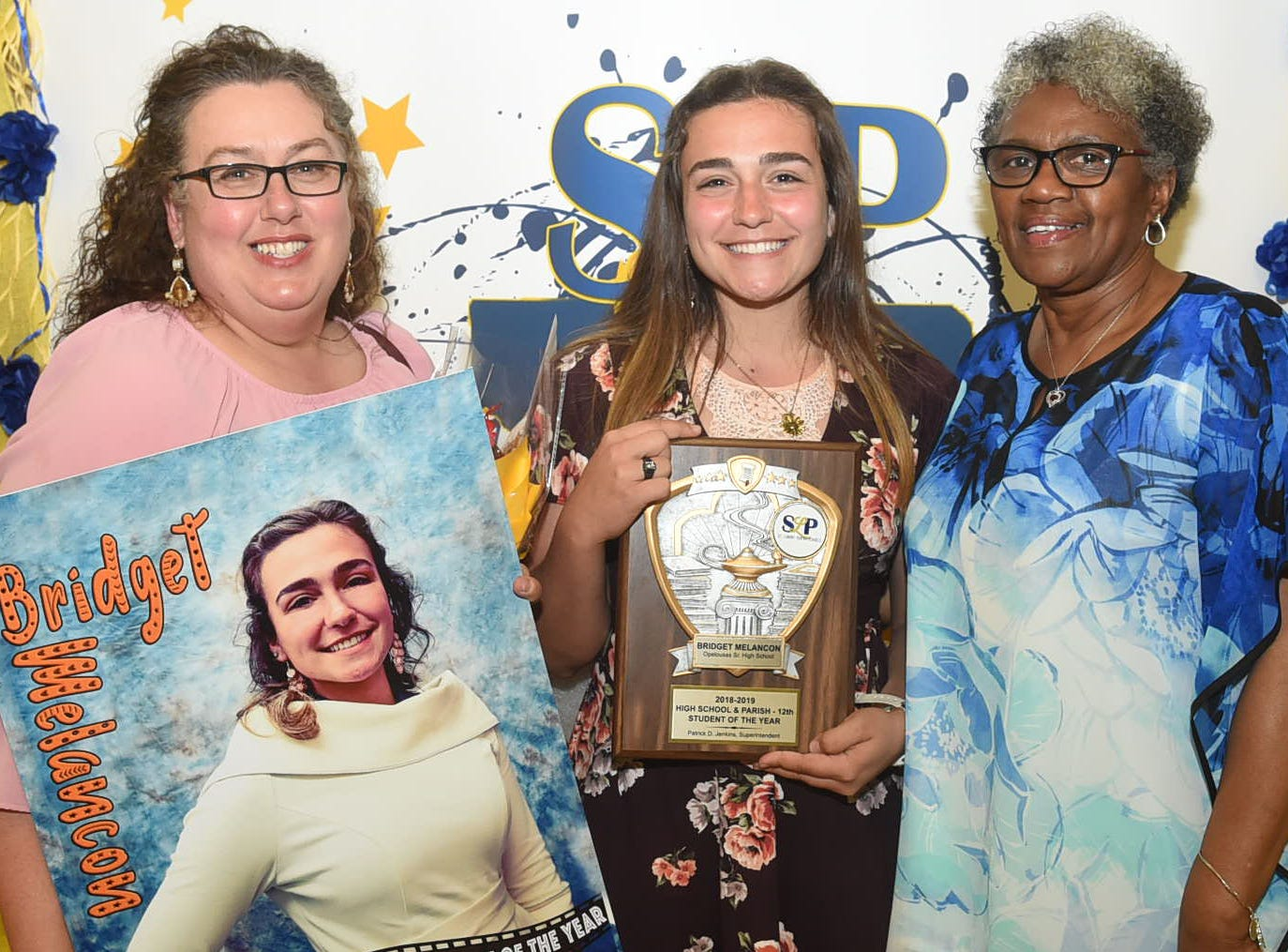 The top students from St. Landry Parish were honored Thursday at a reception and awards banquet at the Opelousas Civic Center.